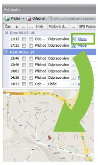 Mobile – GPS localisation
